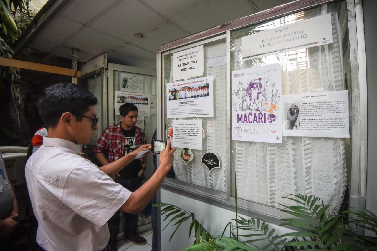 Sorteo del Servicio Militar se llevará a cabo este domingo, en Xalapa