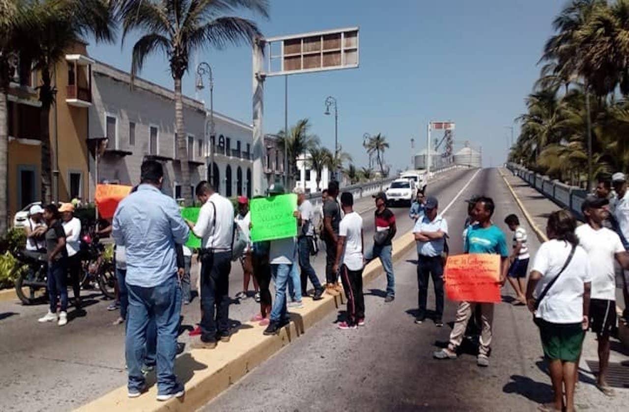 Protestas y bloqueos regresaron ante contingencia por covid