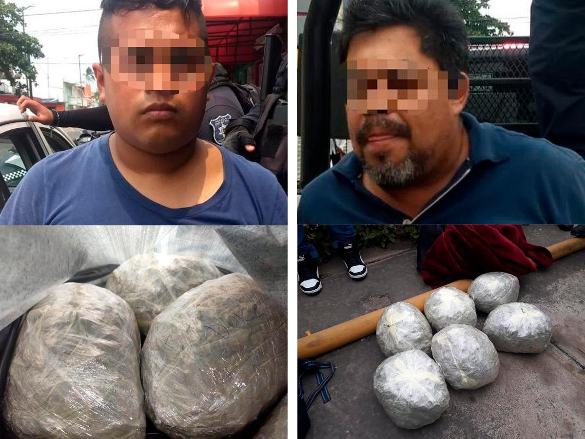 """Detienen a dos con """"pelotas de droga"""" en el puerto de Veracruz"""
