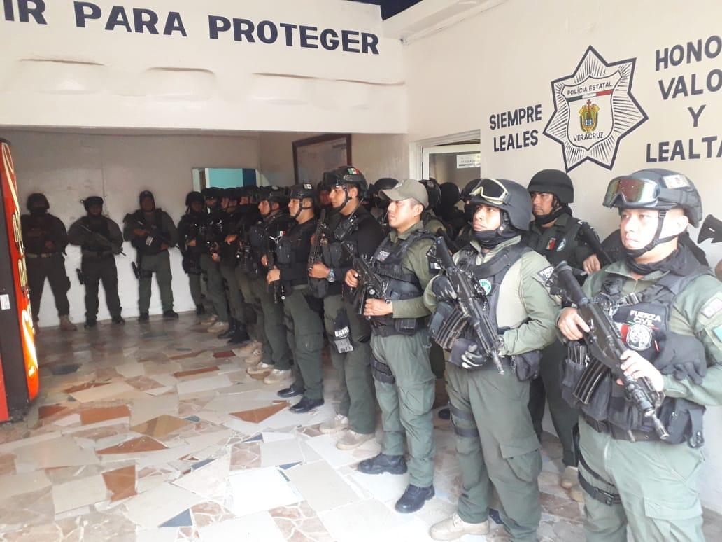 SSP toma control de la seguridad, en Acayucan