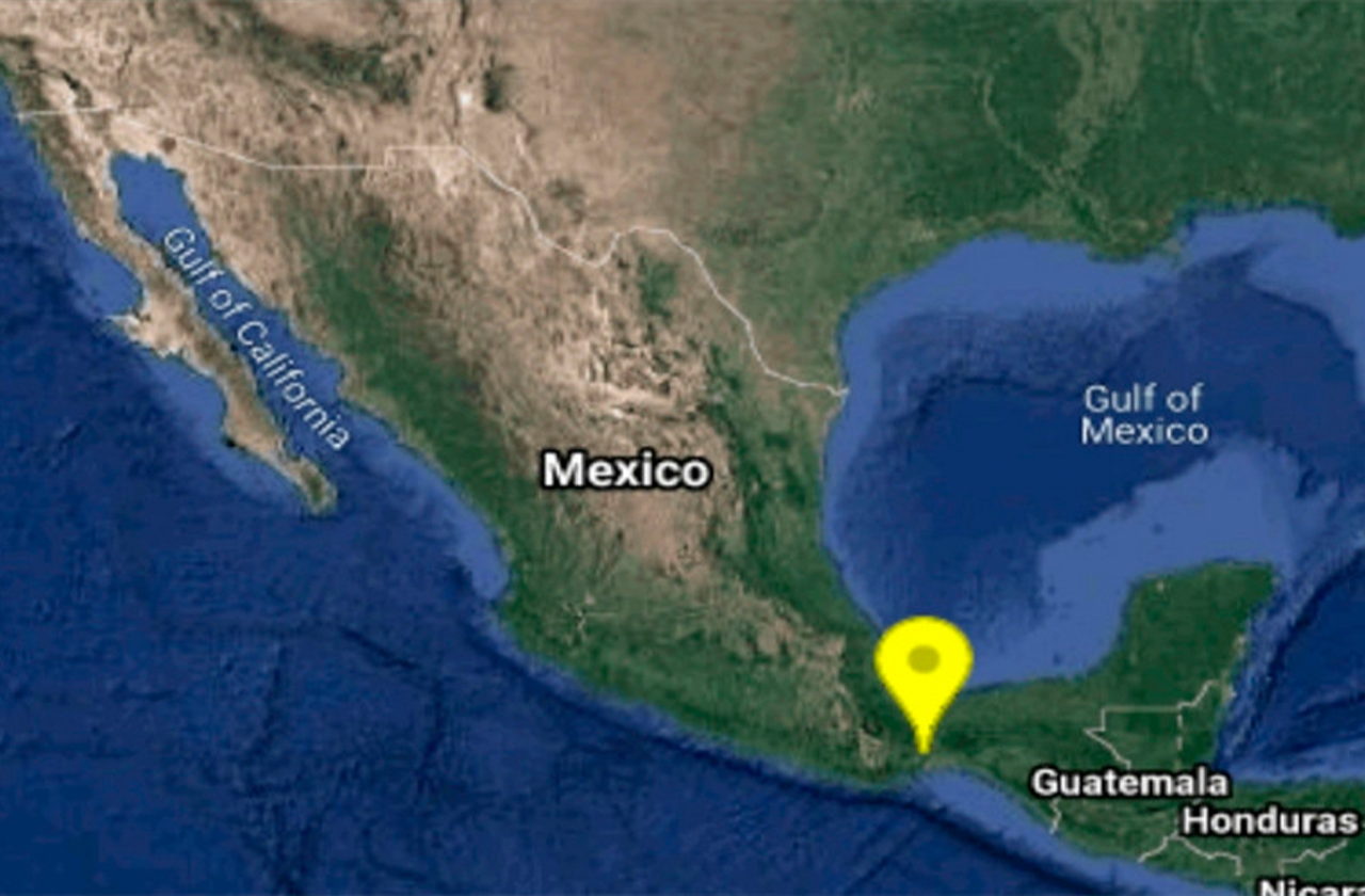 Esta madrugada, sismo de 5.4 grados sacude a Oaxaca