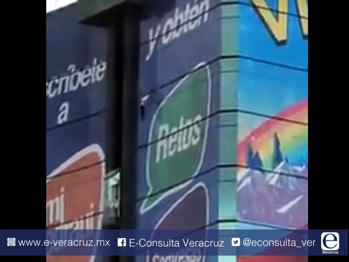 Graban momento de suicidio en Torre Ánimas de Xalapa