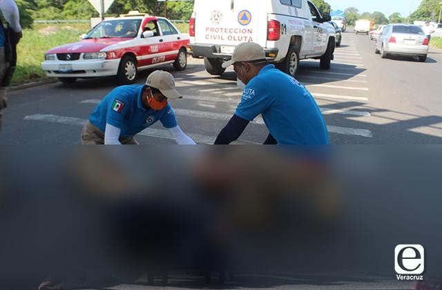 Joven intentar suicidarse aventandose de puente en Oluta