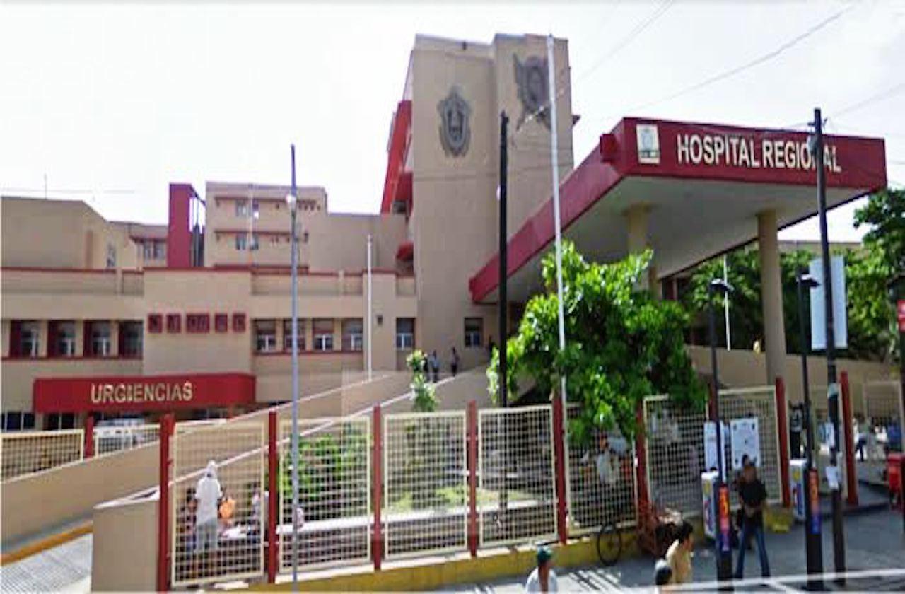 Sujeto se corta el cuello en Hospital Regional de Veracruz
