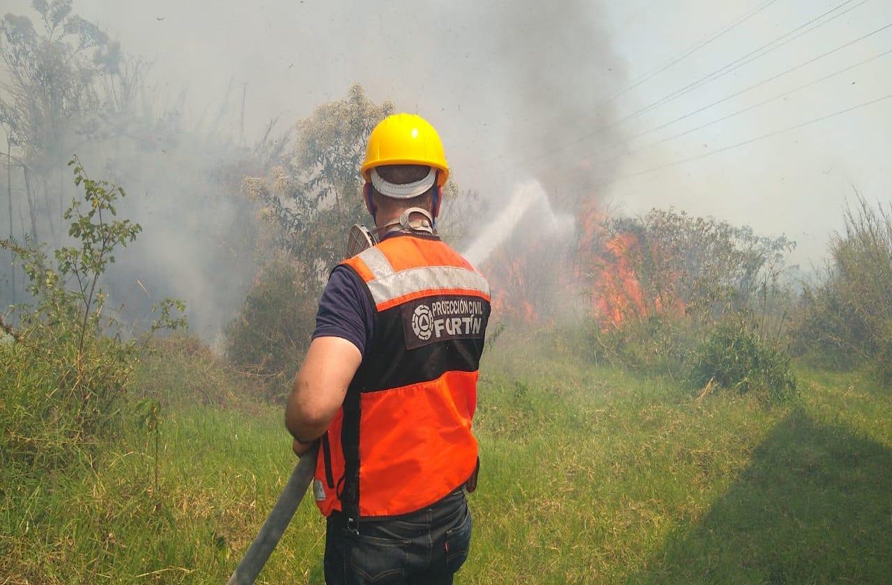 Suman 3 nuevos incendios en zona centro de Veracruz