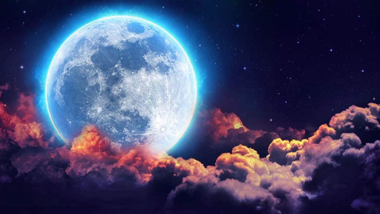 ¡Sólo hoy! Eclipse, una superluna, superluna de sangre y superluna azul