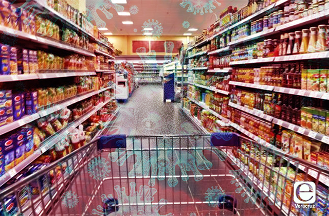¿Es igual el riesgo de contagio en mercados y supermercados?