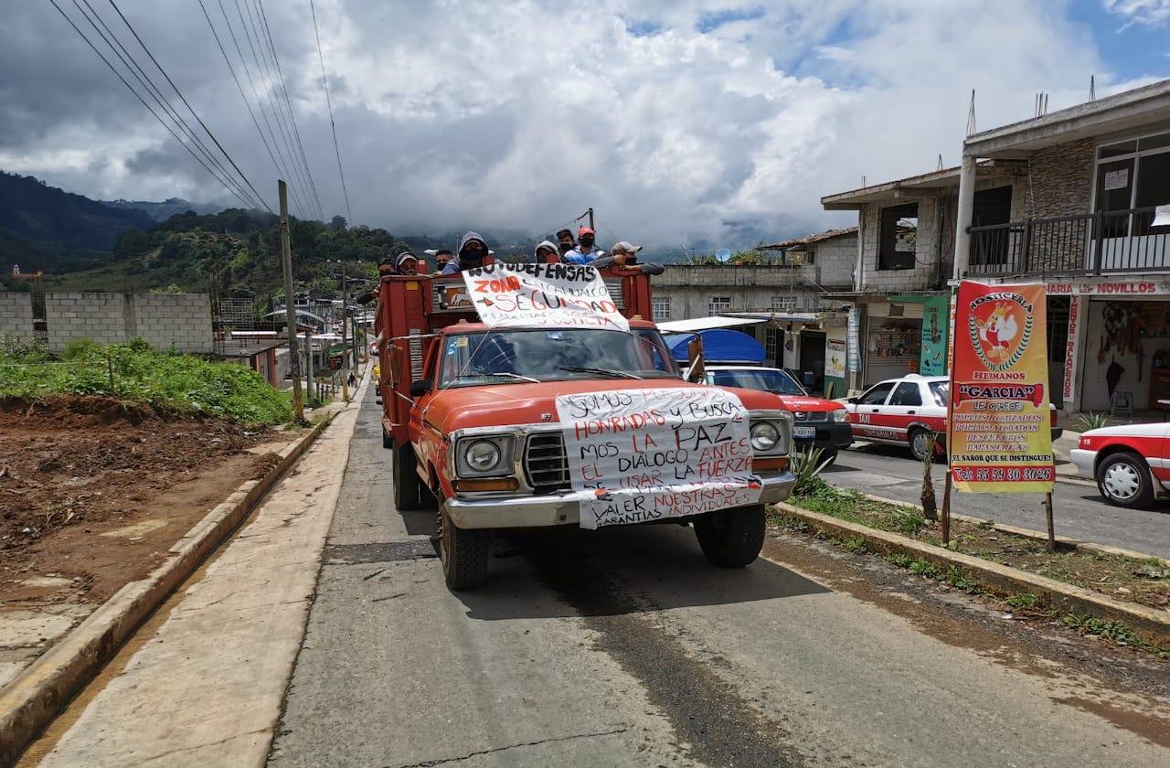 Surgen presuntos autodefensas en Calcahualco