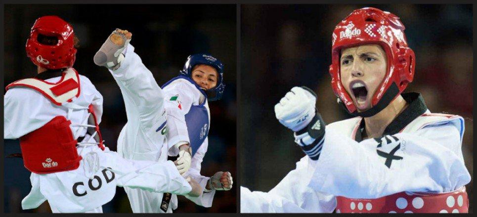 Mexicanos avanzan a octavos de final en taekwondo en Río 2016