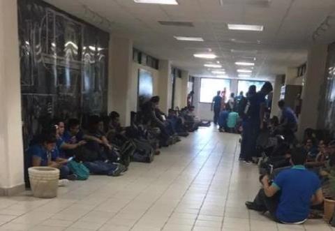 Hombre armado irrumpe en Universidad de Tamaulipas