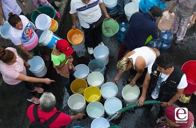 Tanques de almacenamiento desaparecerían tandeos en Xalapa