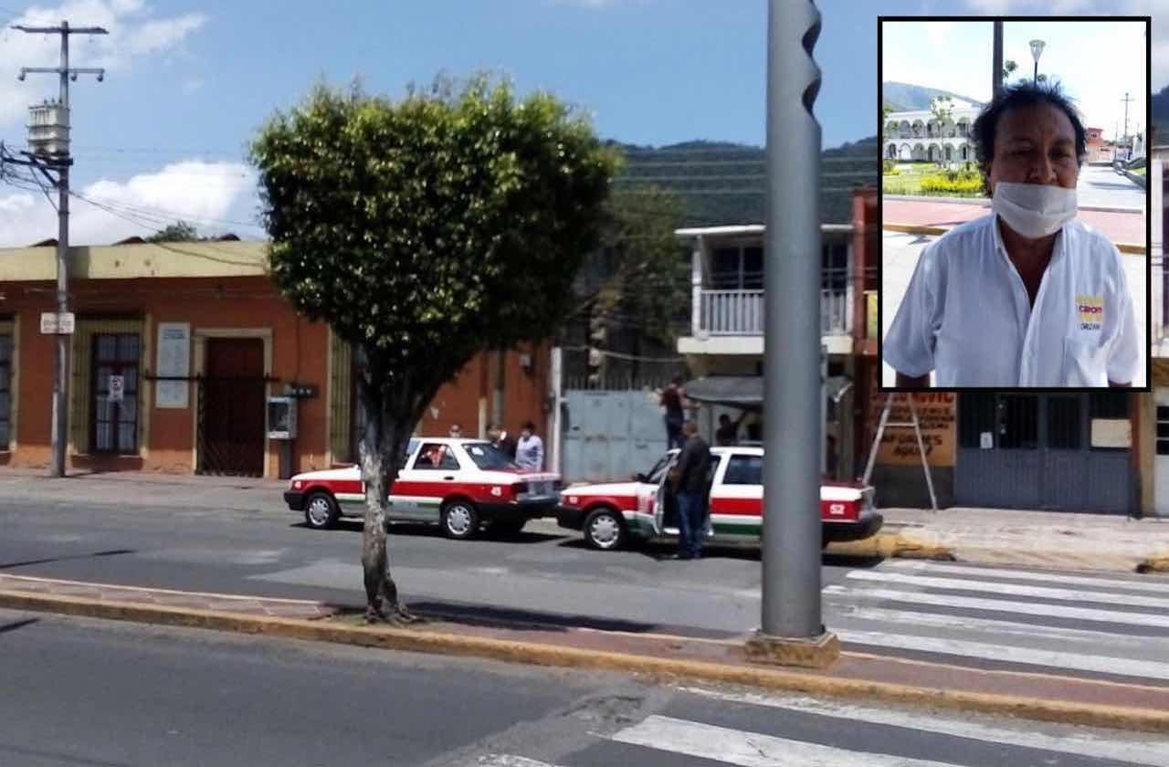 Taxistas solicitan centro de sanitización en Nogales