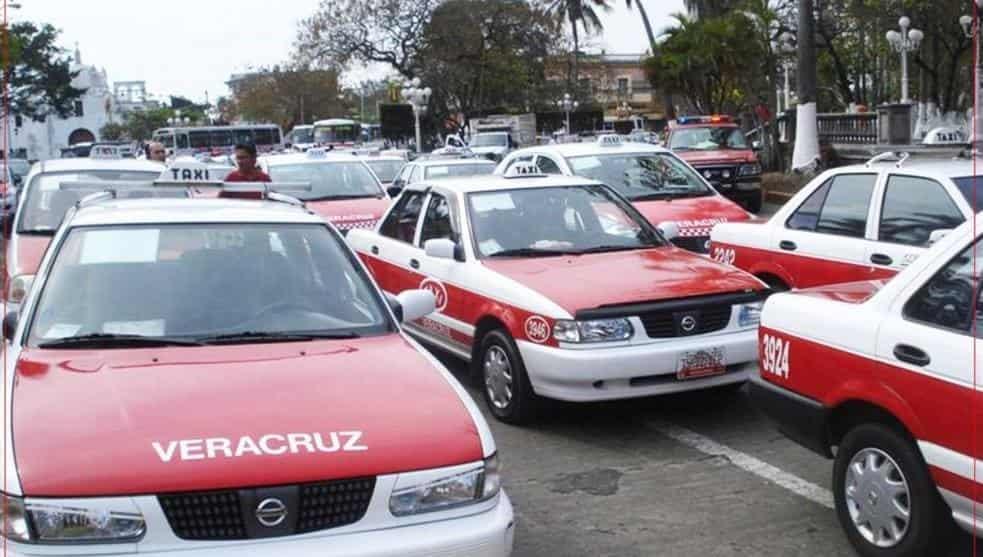 Cinco pesos subiría tarifa de taxi en zona conurbada Veracruz-Boca del Río