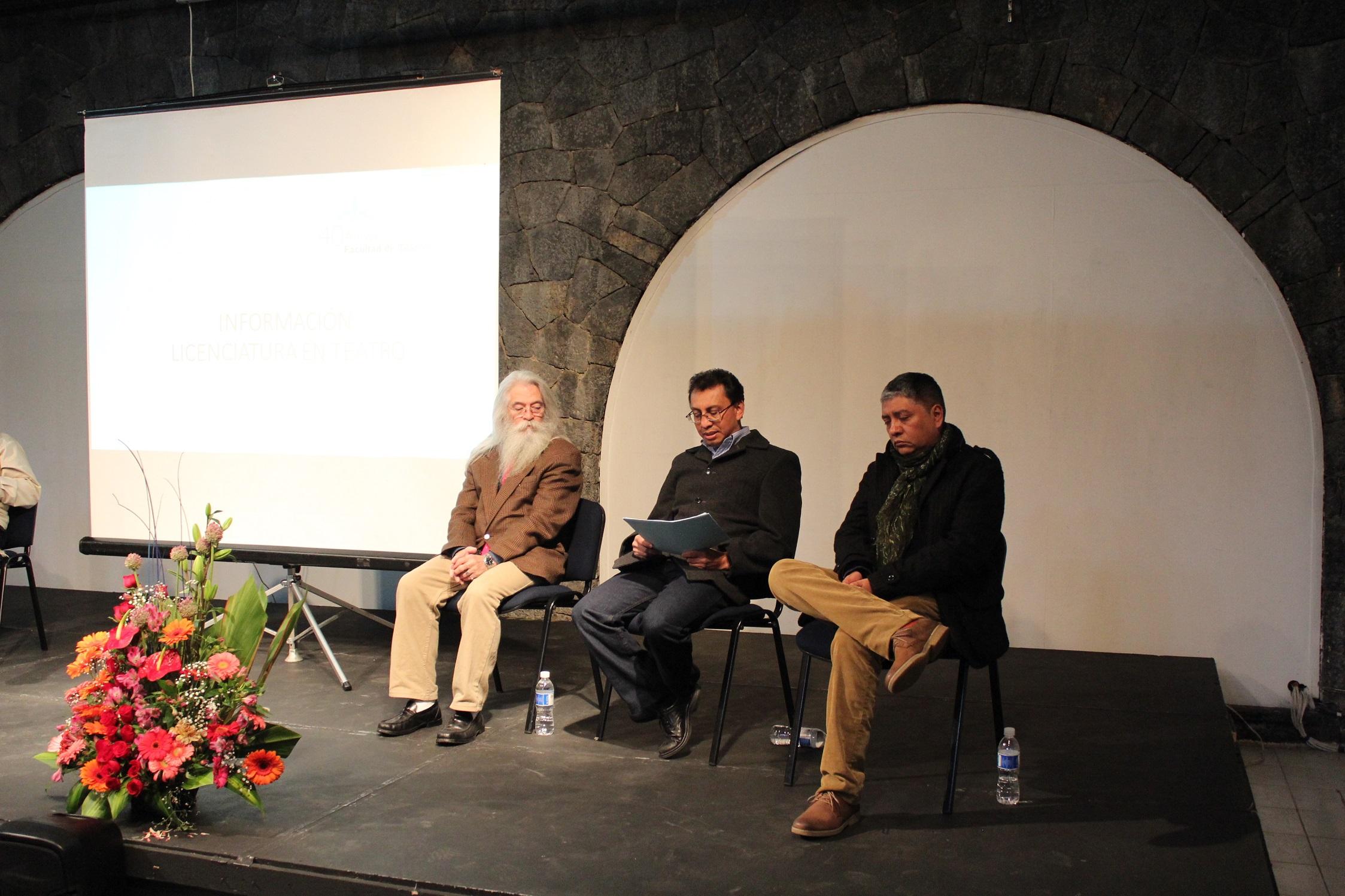 Facultad de Teatro celebra su 40 aniversario