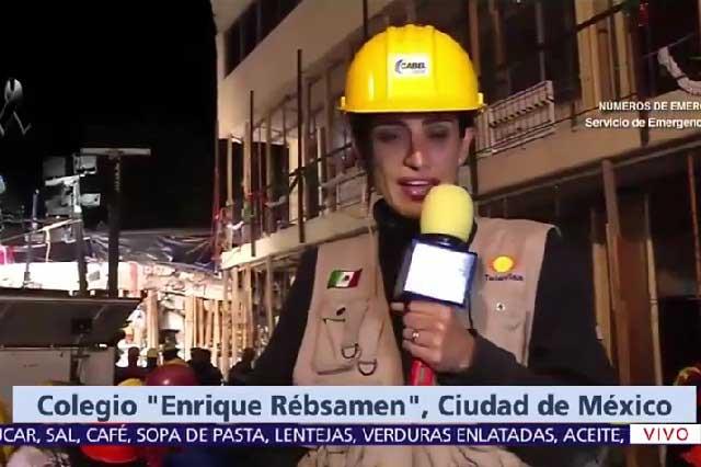 Atacan a Televisa por inventar historia de Frida, la niña que pedía agua