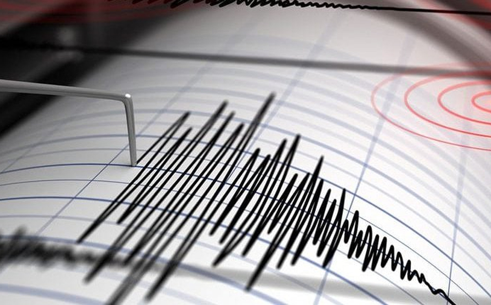 Se registra sismo en Las Choapas durante la madrugada