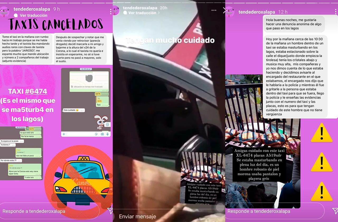 Video: Exhiben a taxista de Xalapa masturbándose en Los Lagos