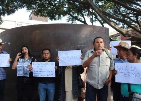 Se oponen a consulta de AMLO sobre Termoelécrica