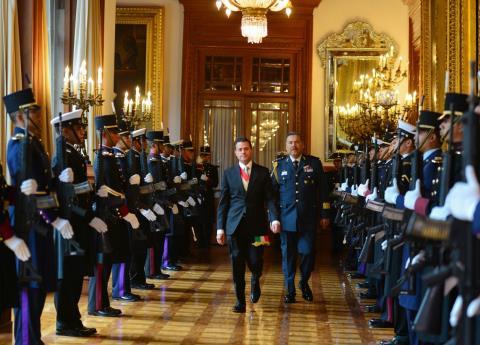 El Estado Mayor Presidencial se prepara para su desaparición