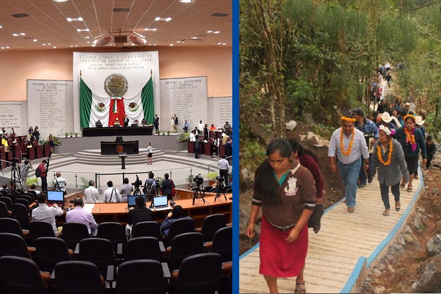 Tras asesinato de alcaldesa desaparecen poderes en Mixtla