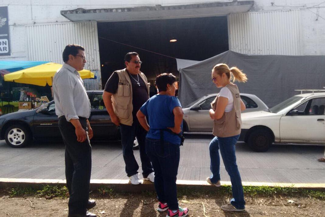 Continúa en pie reubicación de tianguistas en Xalapa