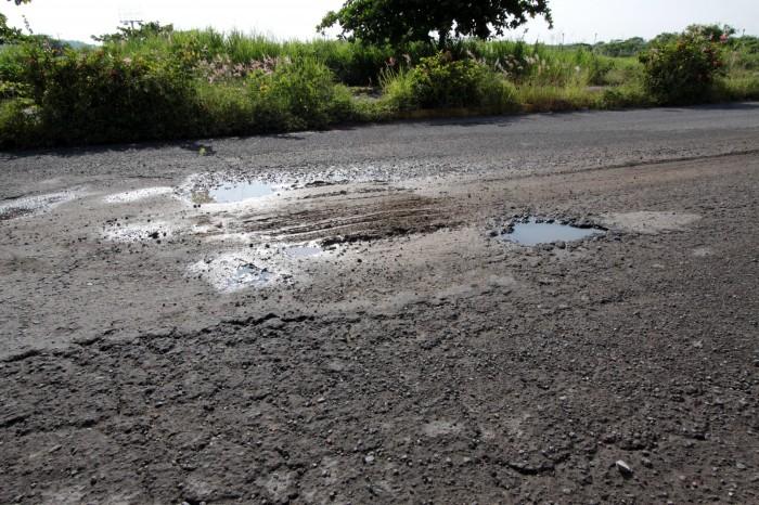 Exigen rehabilitar la carretera Paso del Toro-La Tinaja