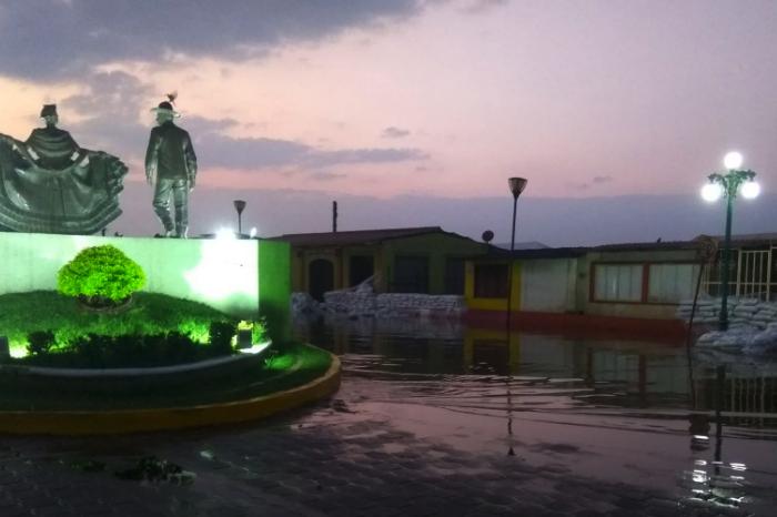 Afectación máxima para Tlacotalpan, entre jueves y viernes