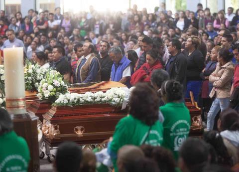 Lista de fallecidos y cuerpos entregados de víctimas de Tlahuelilpan
