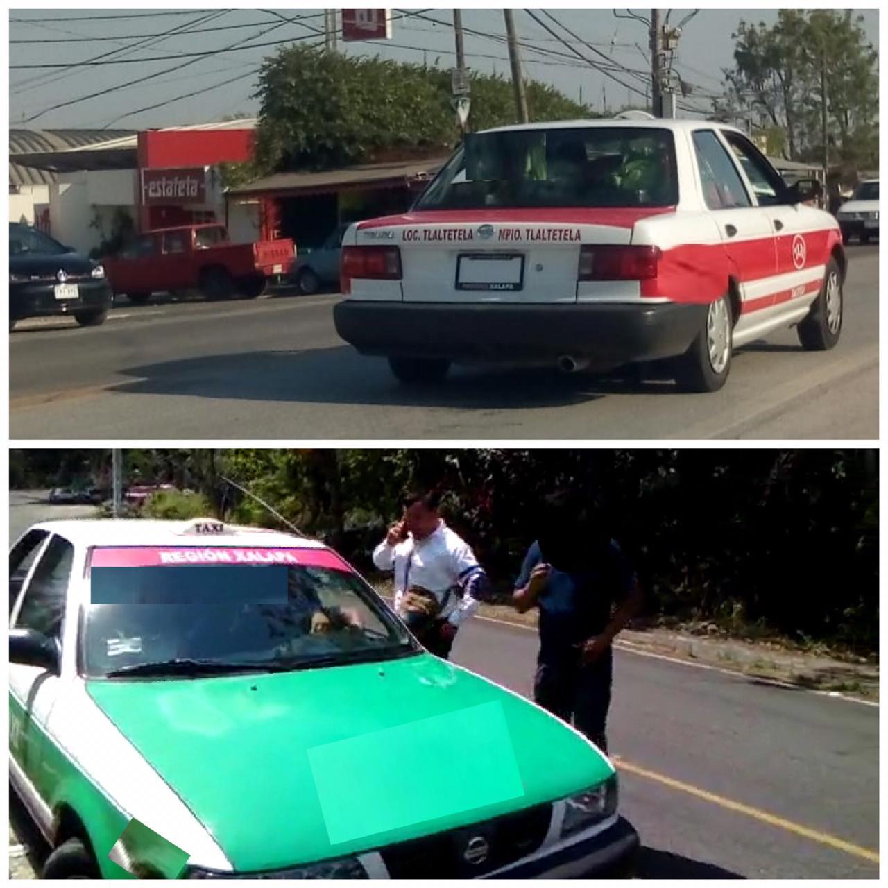 Acusan a alcalde de Tlaltetela de adueñarse de taxis colectivos