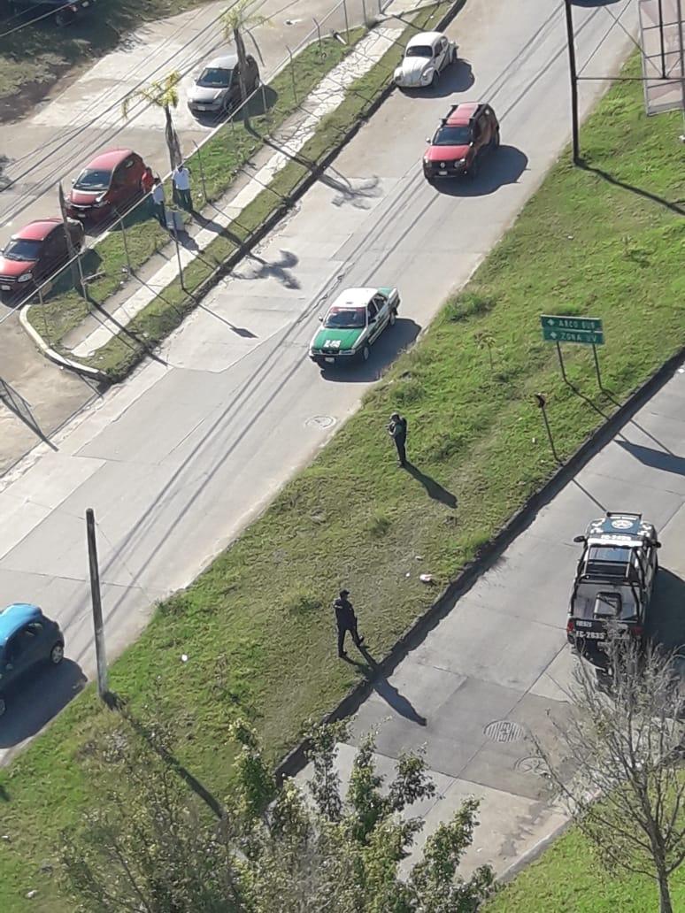 Balacera en Torre Olmo en Xalapa deja un delincuente lesionado