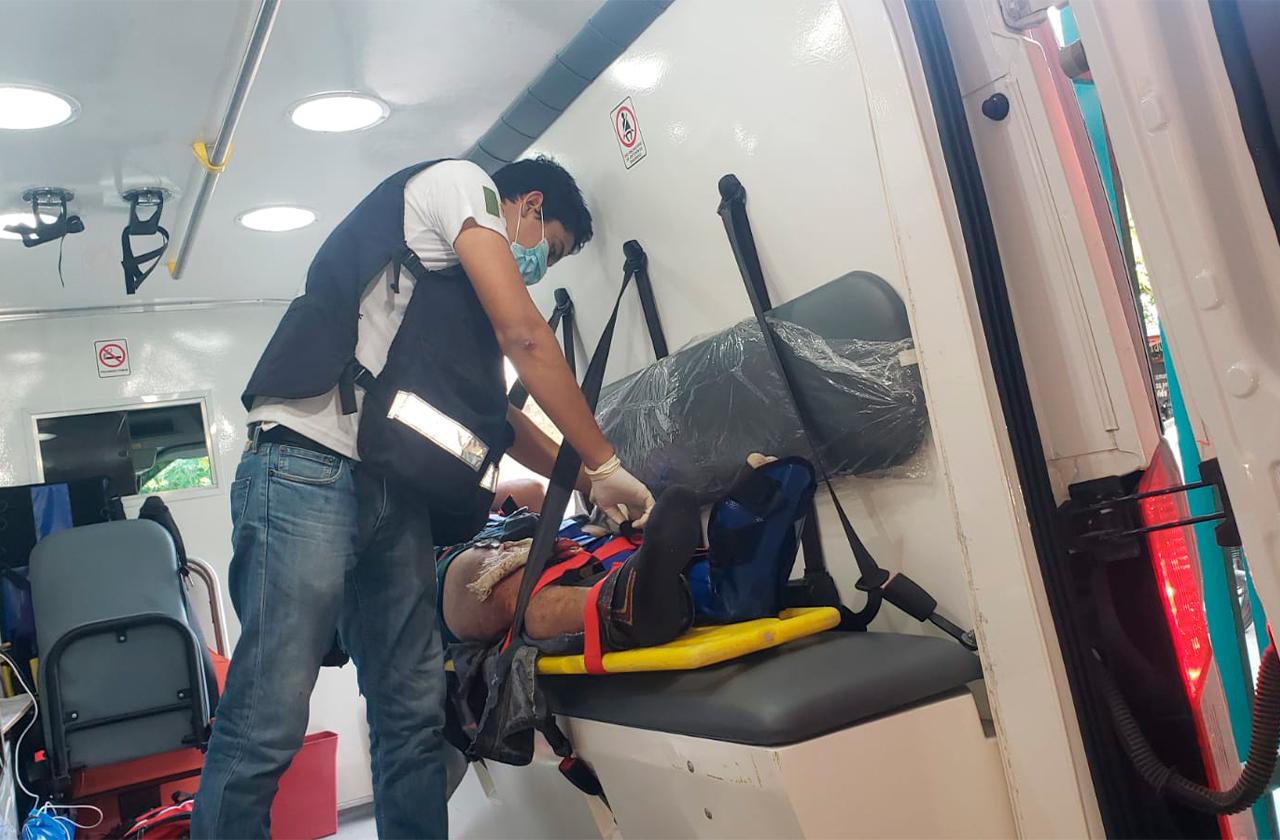 Trabajador muere tras caer de antena de 20 metros en Cosamaloapan