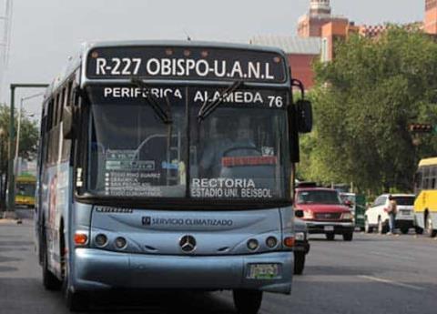También en Monterrey, transportistas piden elevar tarifas