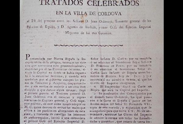 Hallan en rancho de Duarte texto de Los tratados de Córdoba