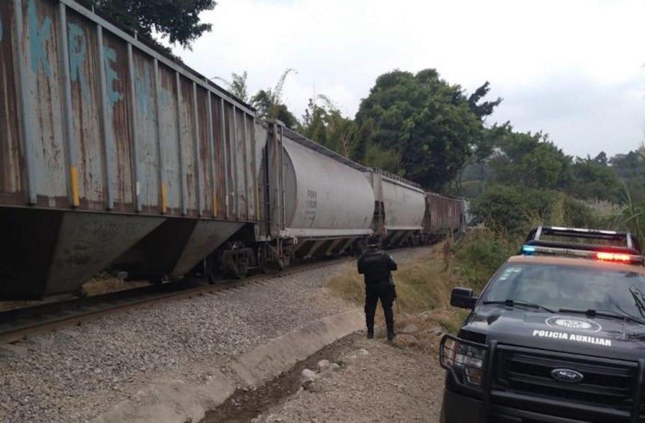 Estos delitos siguen cometiéndose contra trenes, en Veracruz