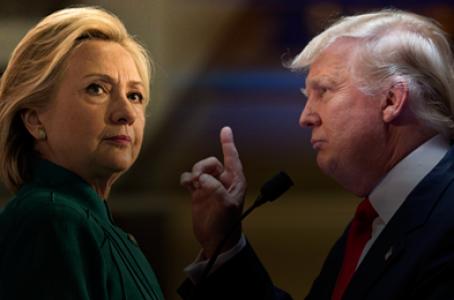 Trump aventaja a Clinton por un punto, según nuevo sondeo