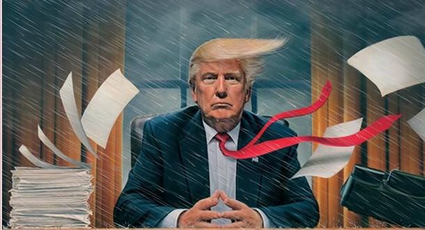 Tormenta en la Casa Blanca; Priebus intenta meter orden con Trump