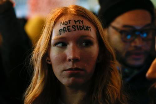 Viven ciudades de EU segundo día de repudio a Trump