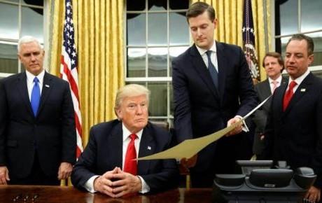 Trump firmará órdenes para revisar TLC y retirar a EU del TPP