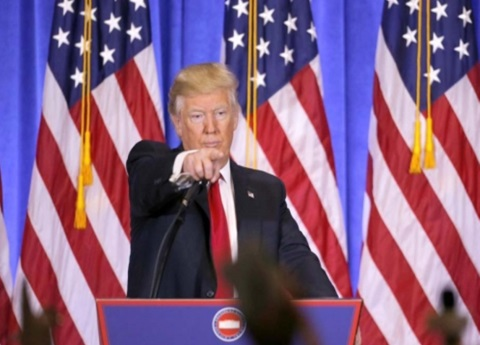 Trump se burla de Kim Jong-un, lo llama