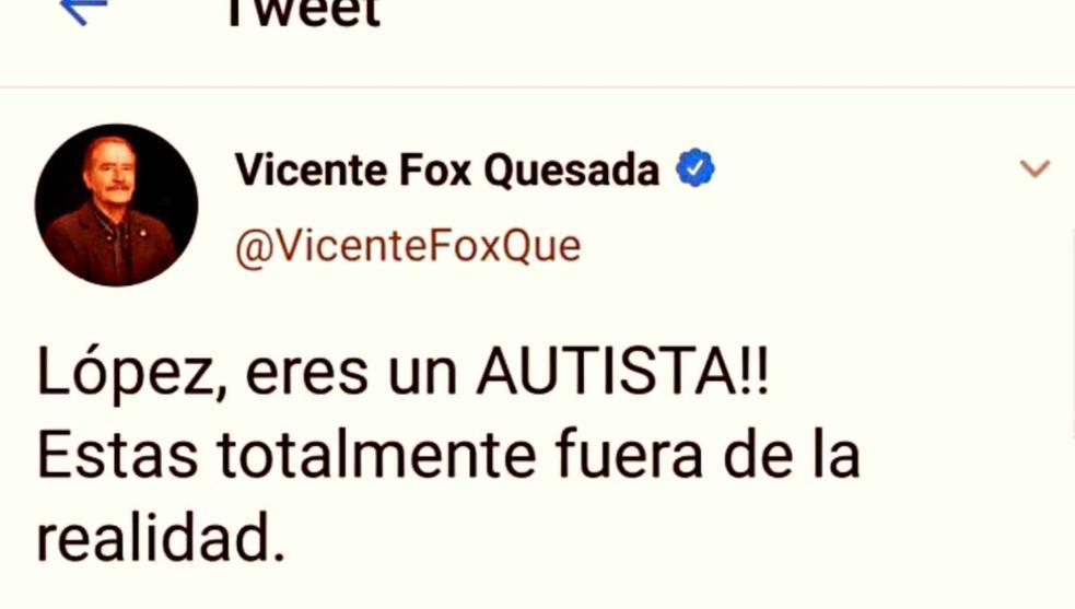 Vicente Fox pide perdón tras 'incendiar' Twitter al llamar