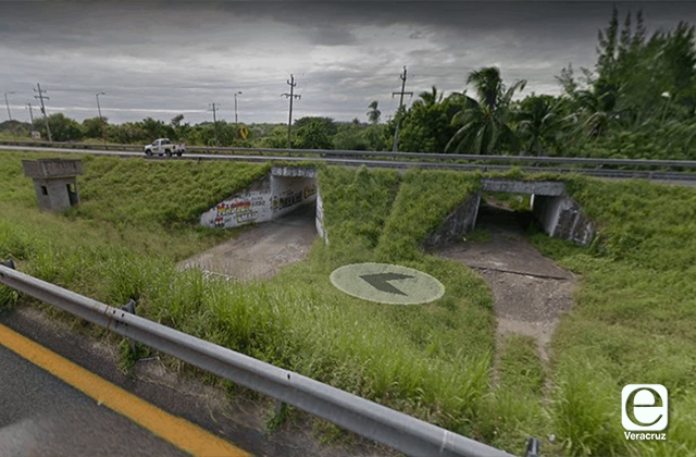 Abandonan cadáver bajo tunel de Cardel