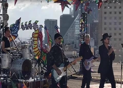 U2 graba su próximo video en México