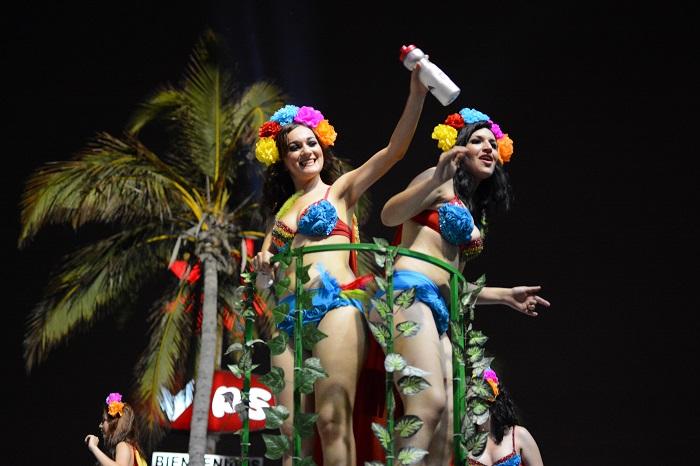 El último desfile del Carnaval de Veracruz
