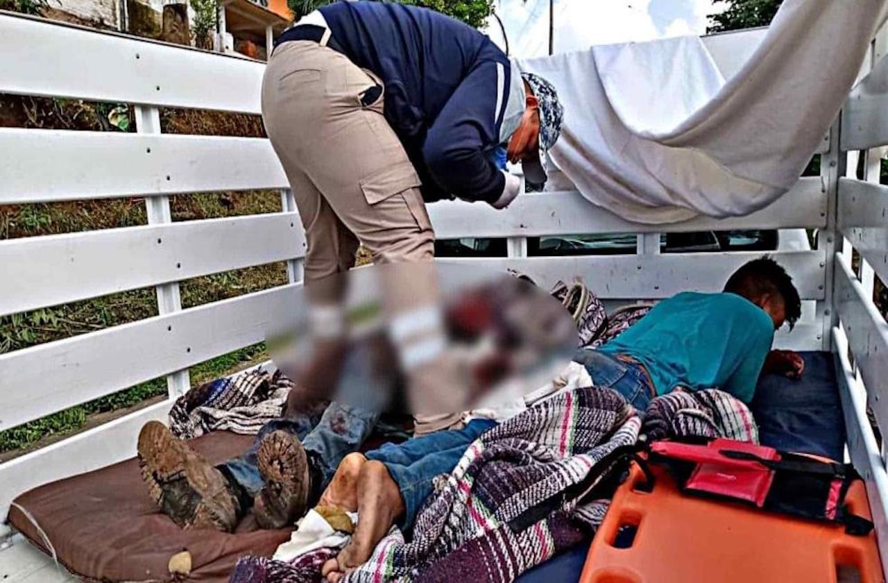 Un muerto y dos heridos en accidente de Teocotla