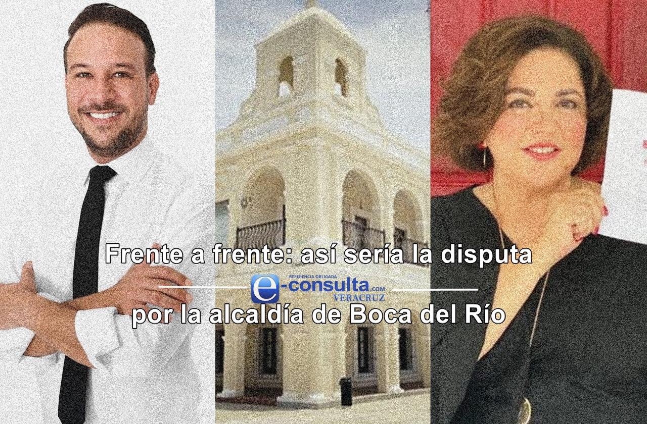 Unanue y de la Reguera disputarán alcaldía en Boca del Río