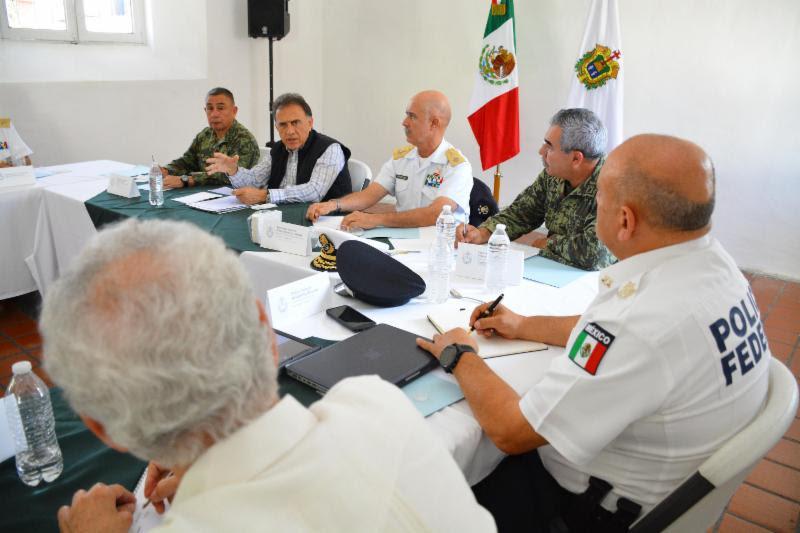 El Gobernador Yunes encabeza la segunda reunión del Grupo de Coordinación Veracruz