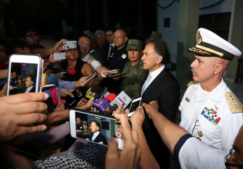 Anuncia Grupo de Coordinación Veracruz operativo tras enfrentamiento en Jesús Carranza