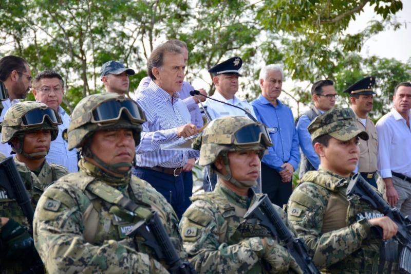 Arranca operativo de seguridad Tuxpan-Huasteca