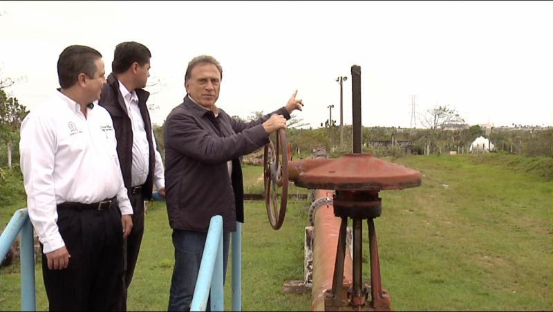 MAYL libera la Presa Yuribia que abastece de agua a medio millon de personas en el Sur del Estado