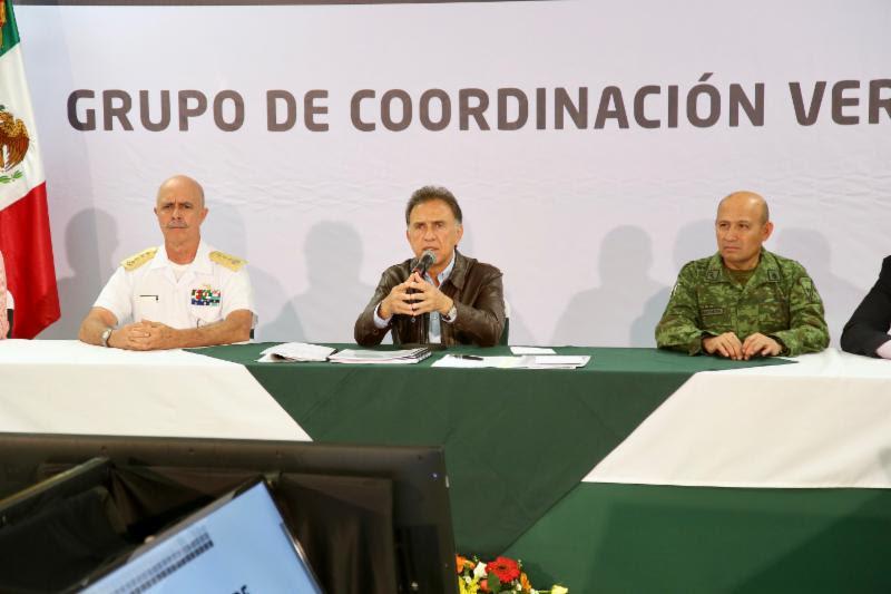 Se intensificarán los operativos de seguridad en las distintas regiones de Veracruz